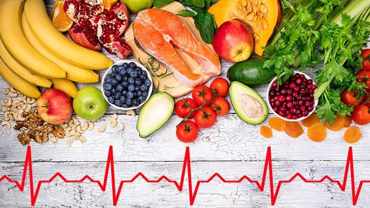نارسایی قلبی - رژیم غذایی