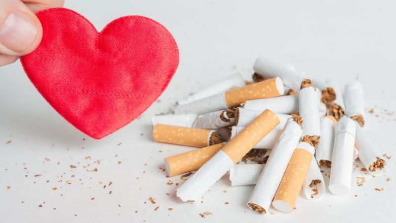 فشارخون بالا - ترک سیگار