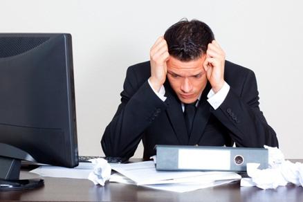 دوازدهمین علت سکته قلبی : استرس شغلی