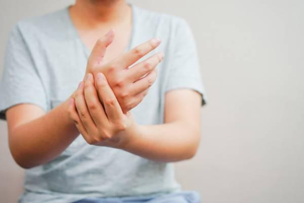 درمان خانگی دست چپ